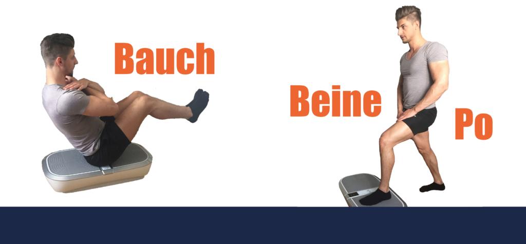 ᐅ Effektive Vibrationsplatten übungen Bauch Beine Po Workout