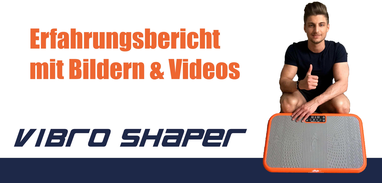 BEST DIRECT Gymform Vibromax Plus Vibrationsplatte und Ganzk/örper Trainingsger/ät