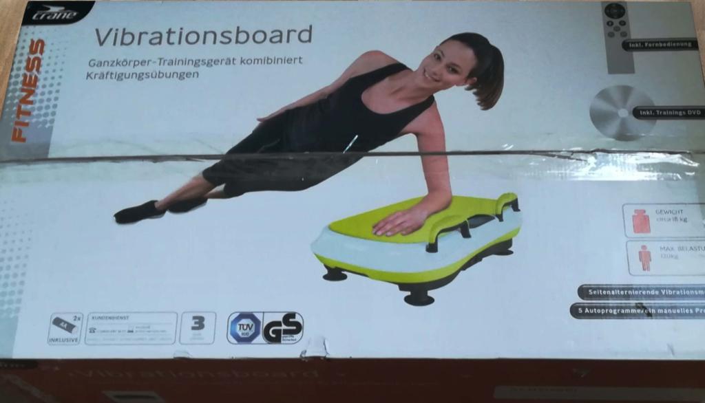 Crane Vibrationsboard Unboxing