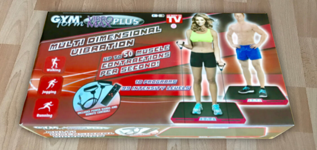 Gymform Vibromax Plus Unboxing
