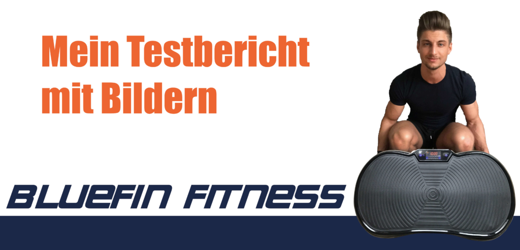 Bluefin Fitness Vibrationsplatte Titelbild