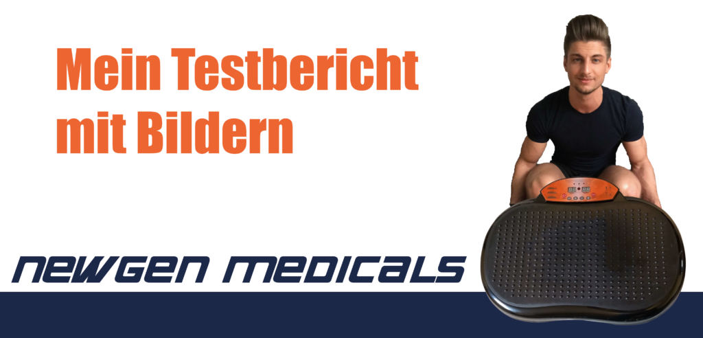 Newgen Medicals Vibrationsplatte Titelbild